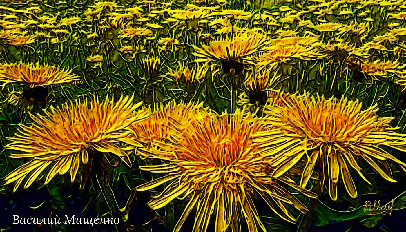 Vasiliy Mishchenko. Flowers 026