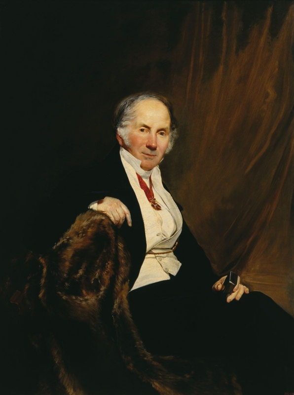 Bogdan Pavlovich Willewalde. Portrait Of A. I. Sauerweid