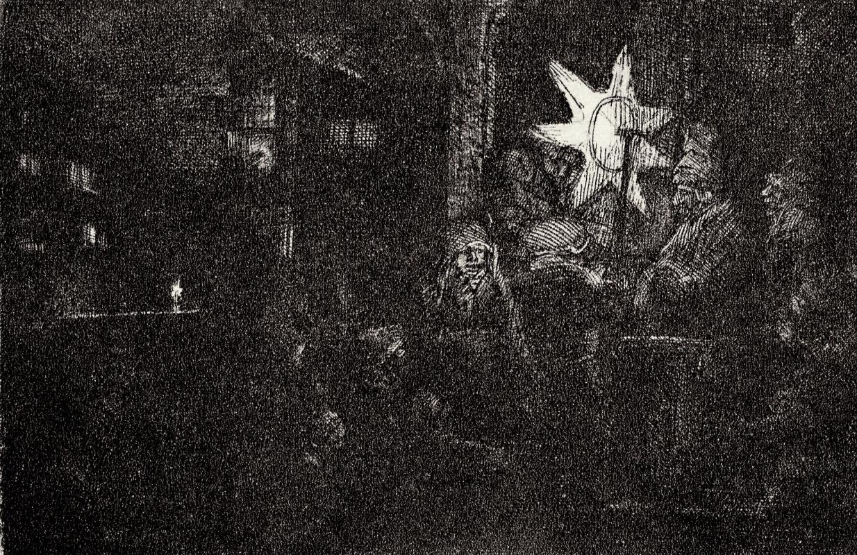 Rembrandt Harmenszoon van Rijn. The Night Of The Three Kings