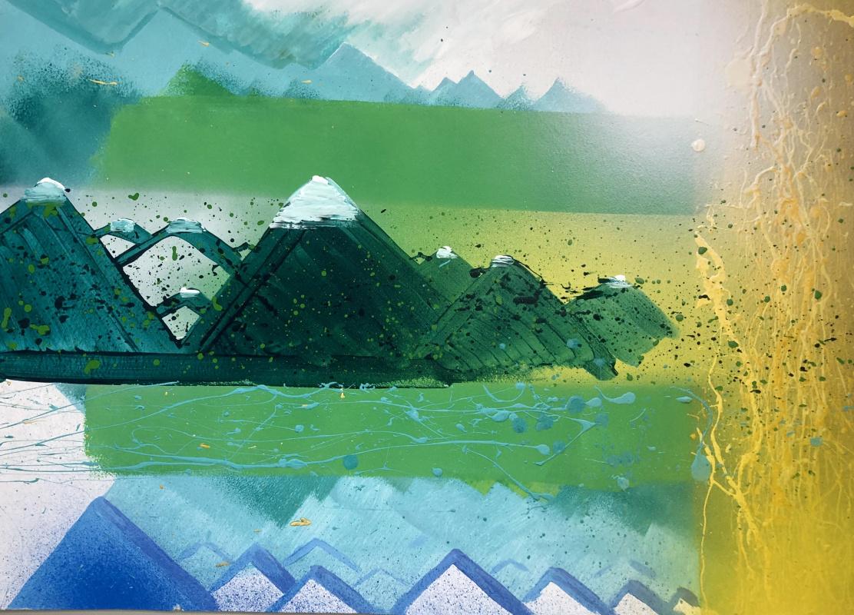 Dmitry Vadimovich BRYLEV. Three and a half mountains