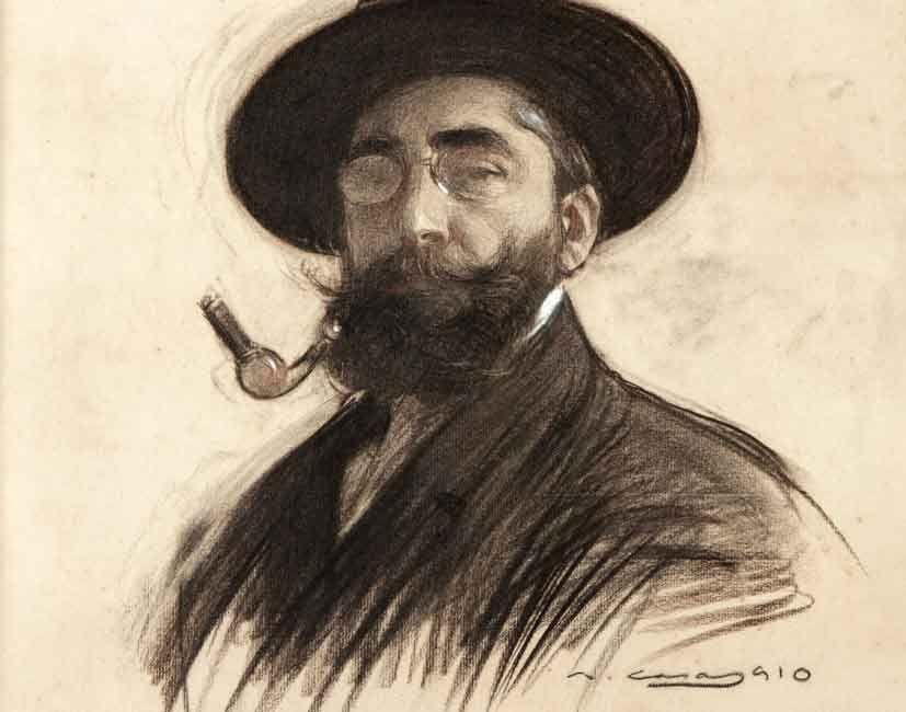 Рамон Касас Карбо. Автопортрет