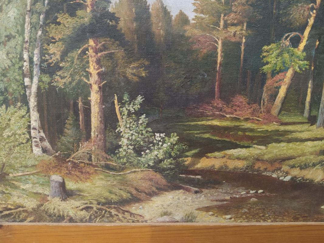 Лесной тишина