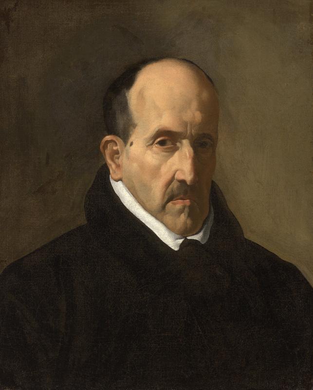 Diego Velazquez. Portrait of Luis de Gongora