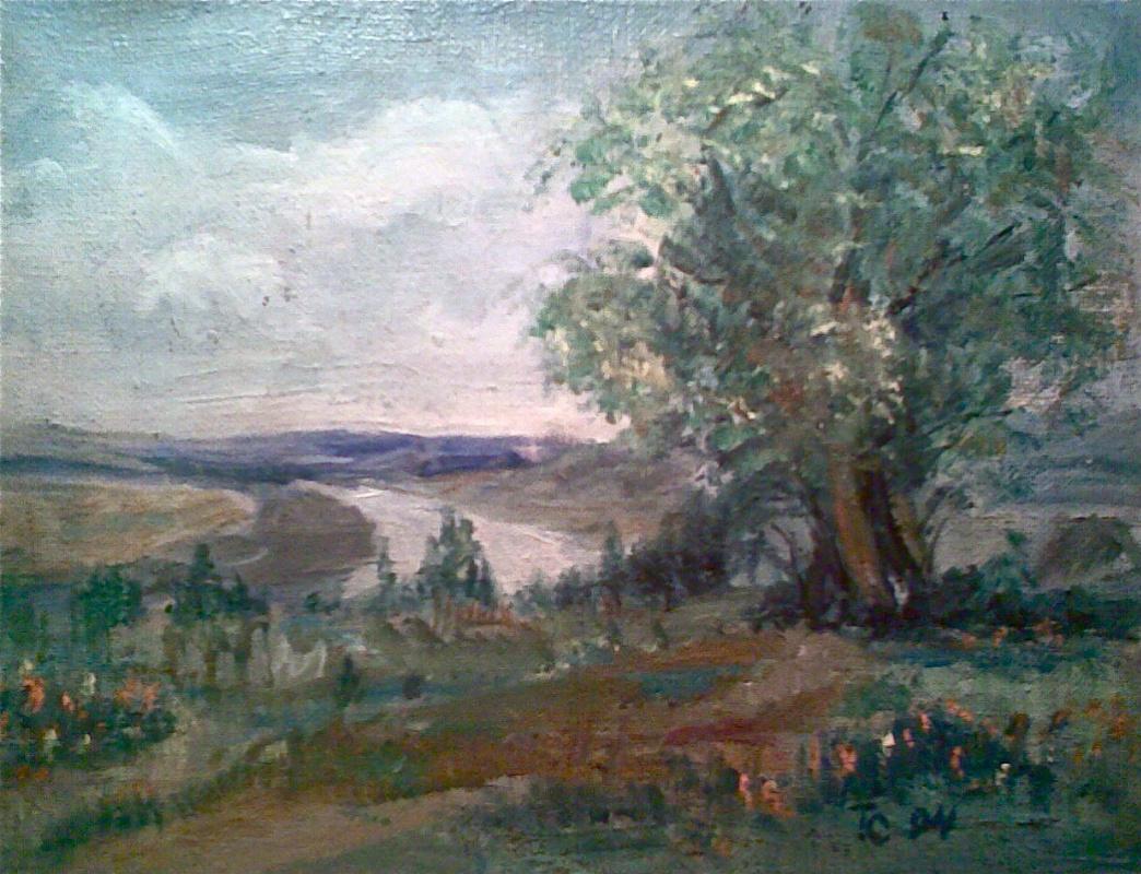 Teymur Altai oglu Saidov. Landscape