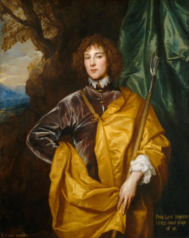Anthony van Dyck. Philip, Lord Wharton