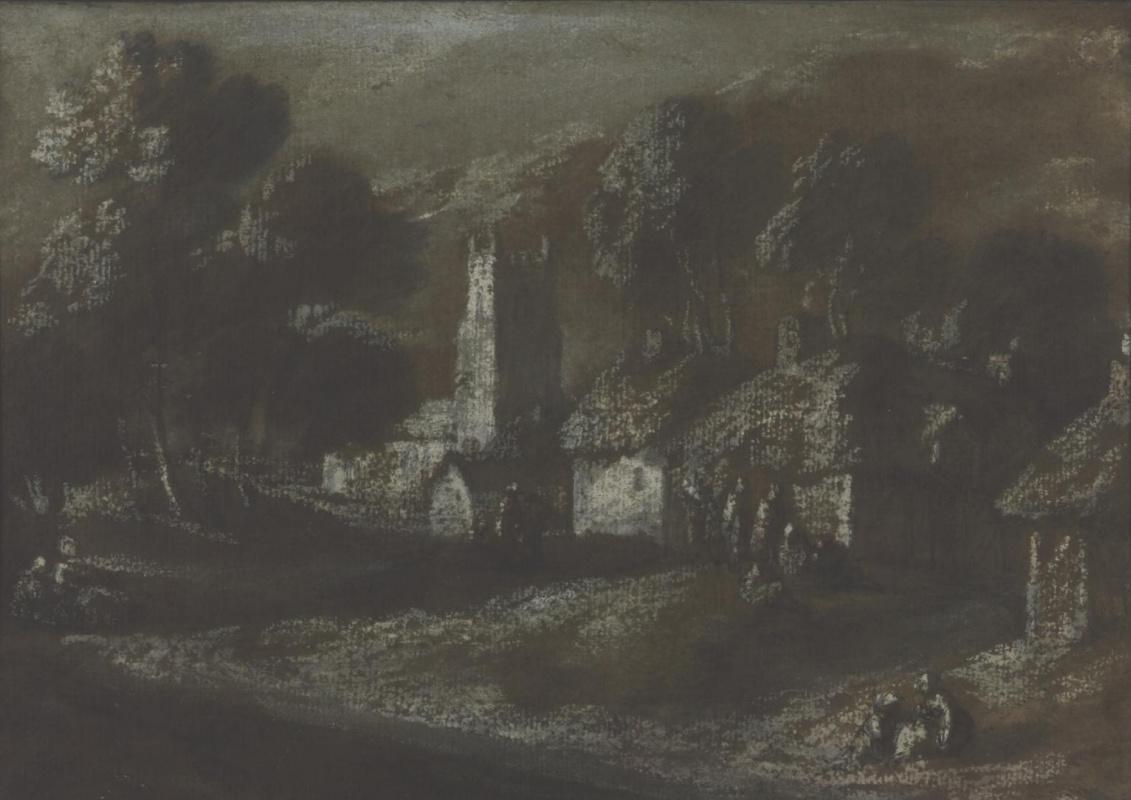 Thomas Gainsborough. Rural landscape