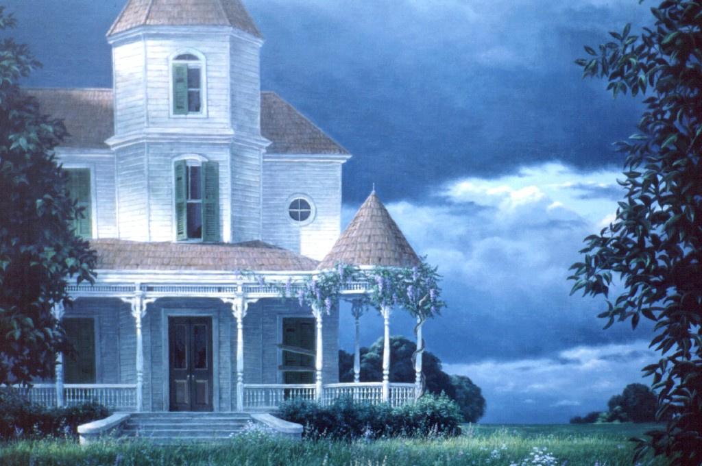 Evelyn Taylor. Abandoned house