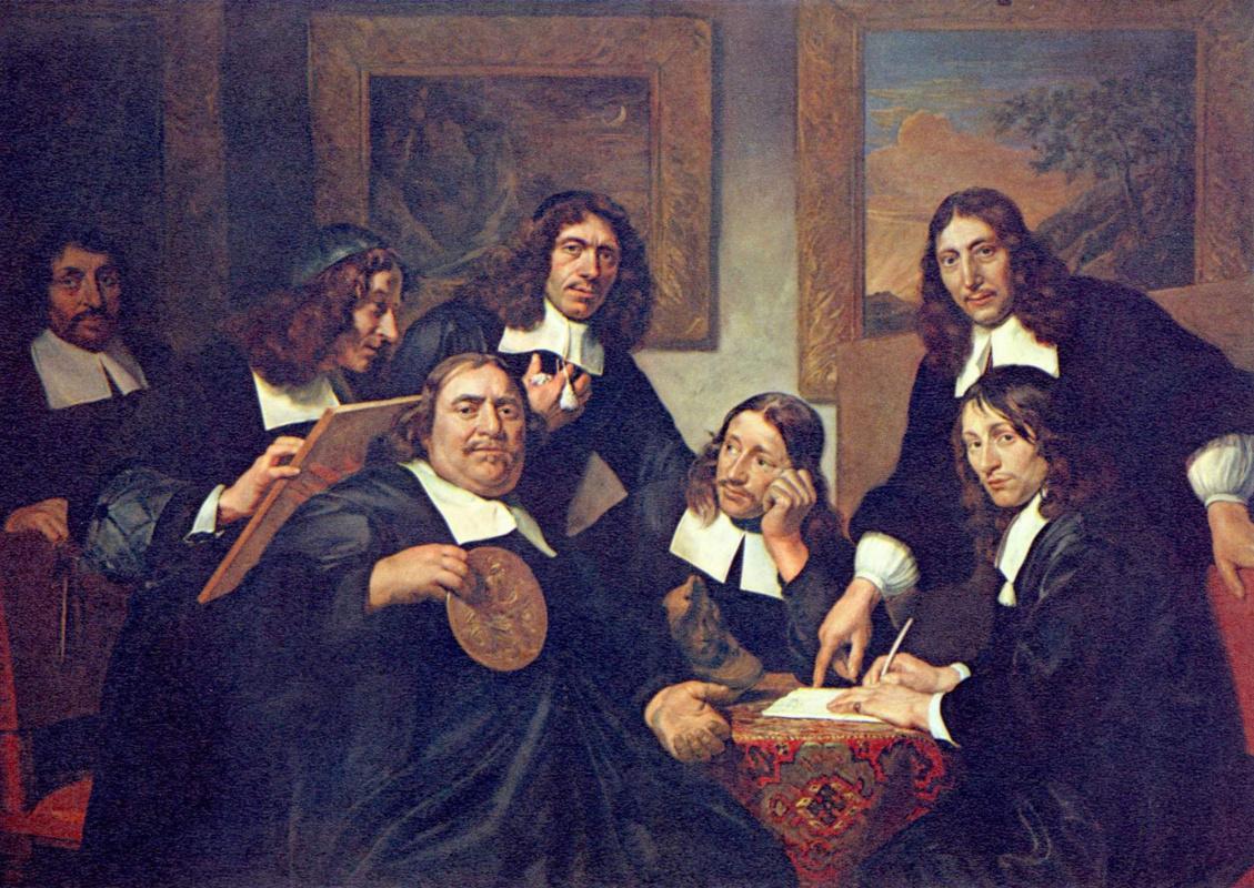 Jan de Bry. Head of the Haarlem Guild of painters