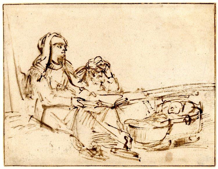 Rembrandt Harmenszoon van Rijn. The Holy Family