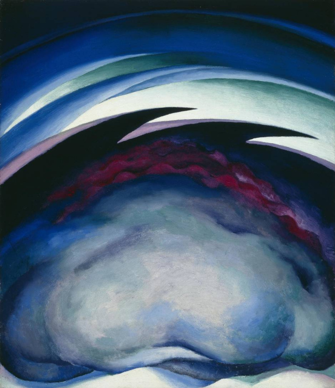 Georgia O'Keeffe. Series I – From the plains