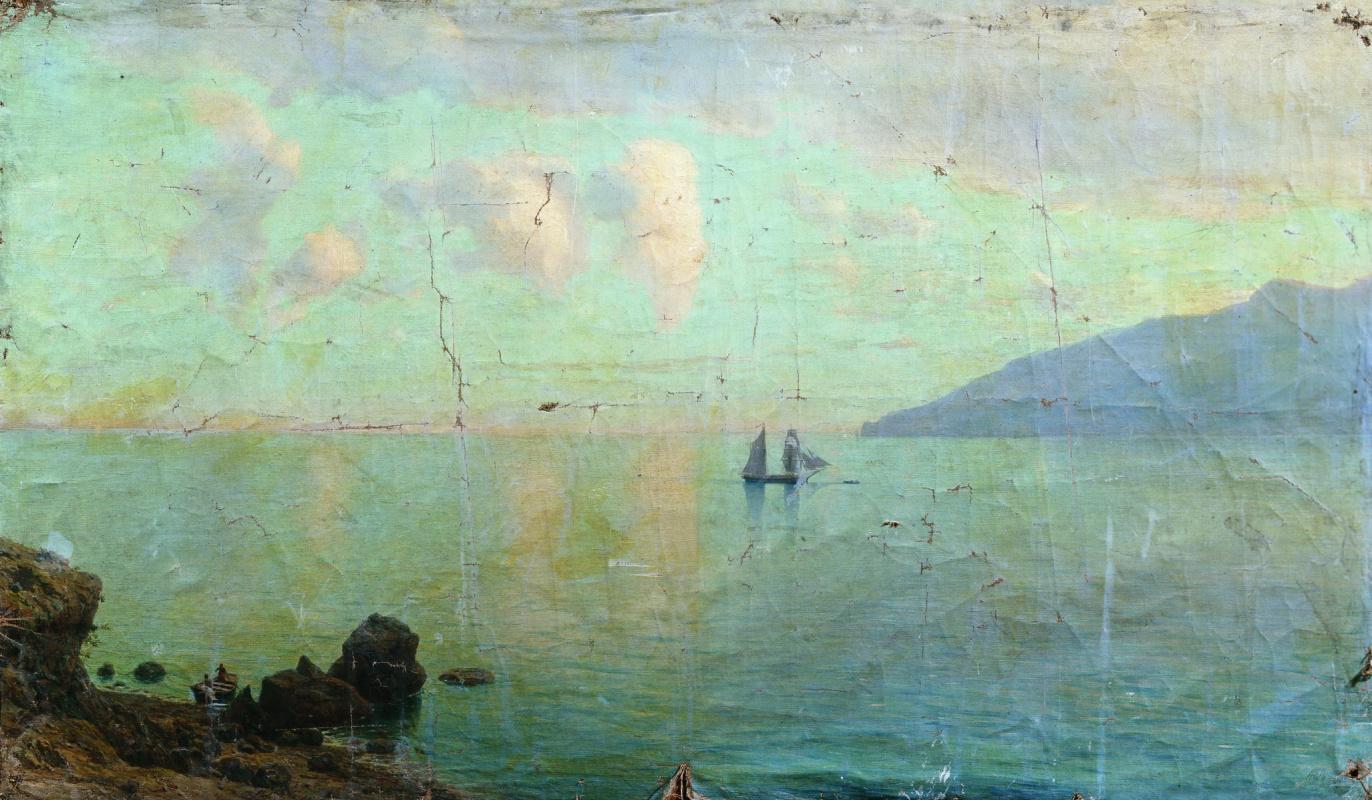 Lev Feliksovich Lagorio. Sea