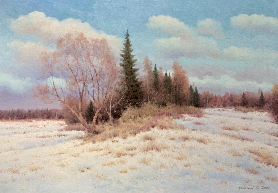 Vasily Ivanovich Gribennikov. Winter day