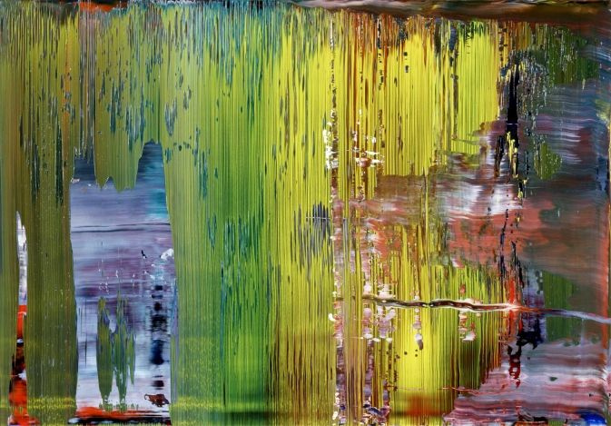 Gerhard Richter. Abstract composition