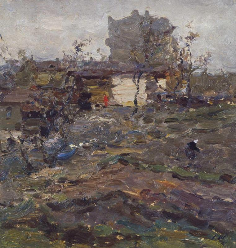 Сергей Федорович Шишко. Огороды