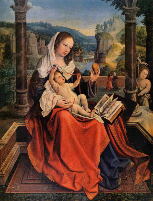 Мария с младенцем