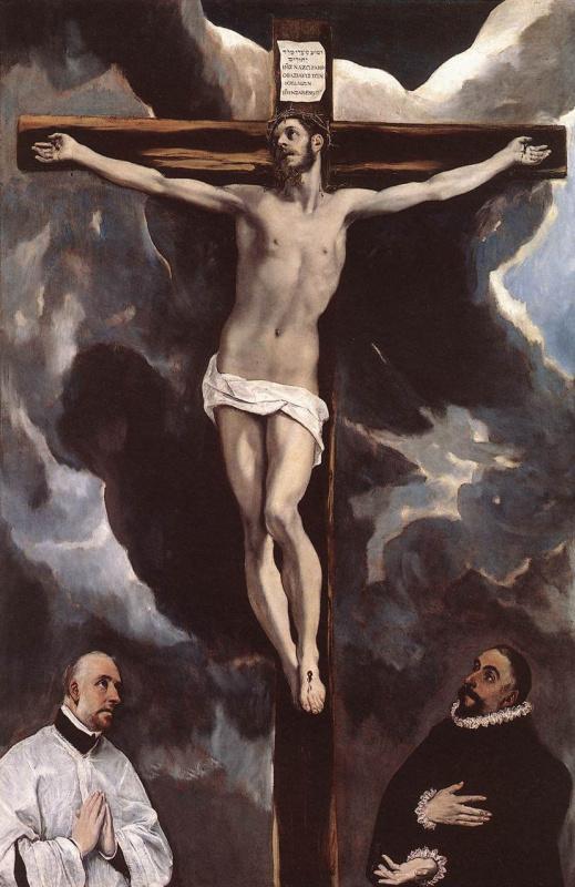 Эль Греко (Доменико Теотокопули). Христос на кресте