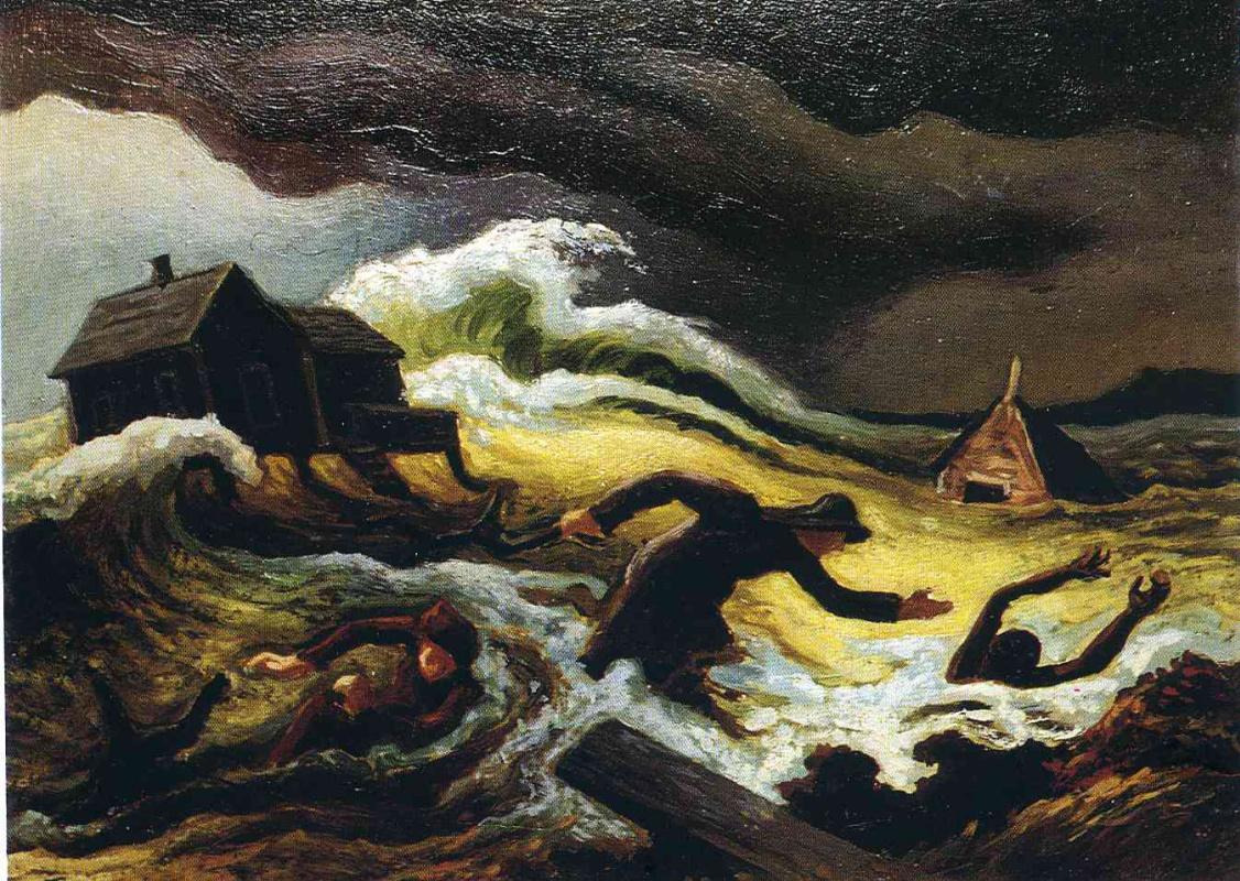 Thomas Hart Benton. Storm