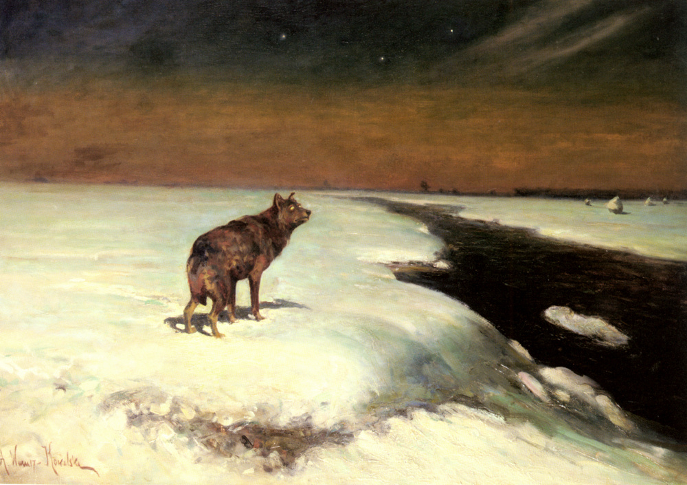 Альфред Ковальский-Веруш. Волк