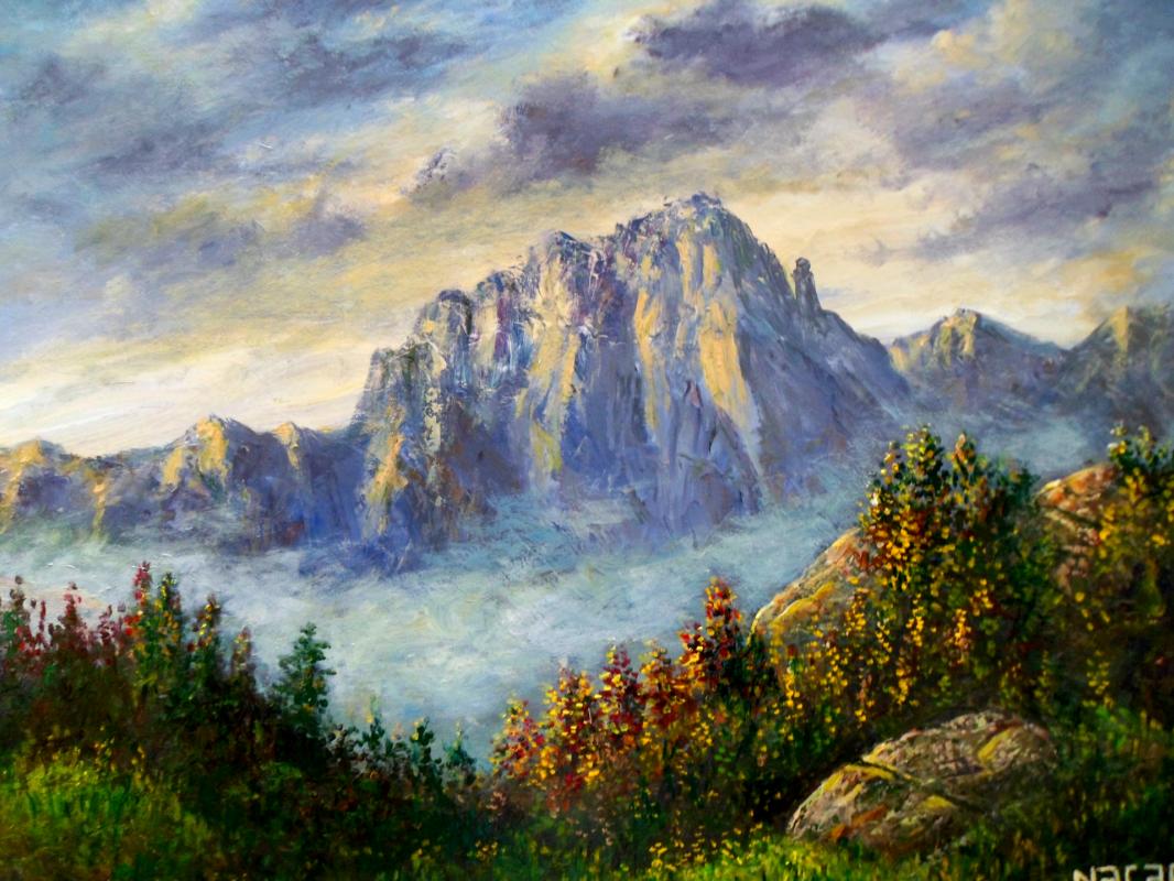 Najaf Mamedali oglu Mamedov. Mountains
