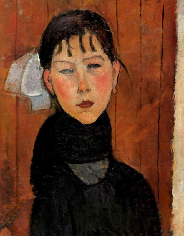 Amedeo Modigliani. Marie, Daughter of the People