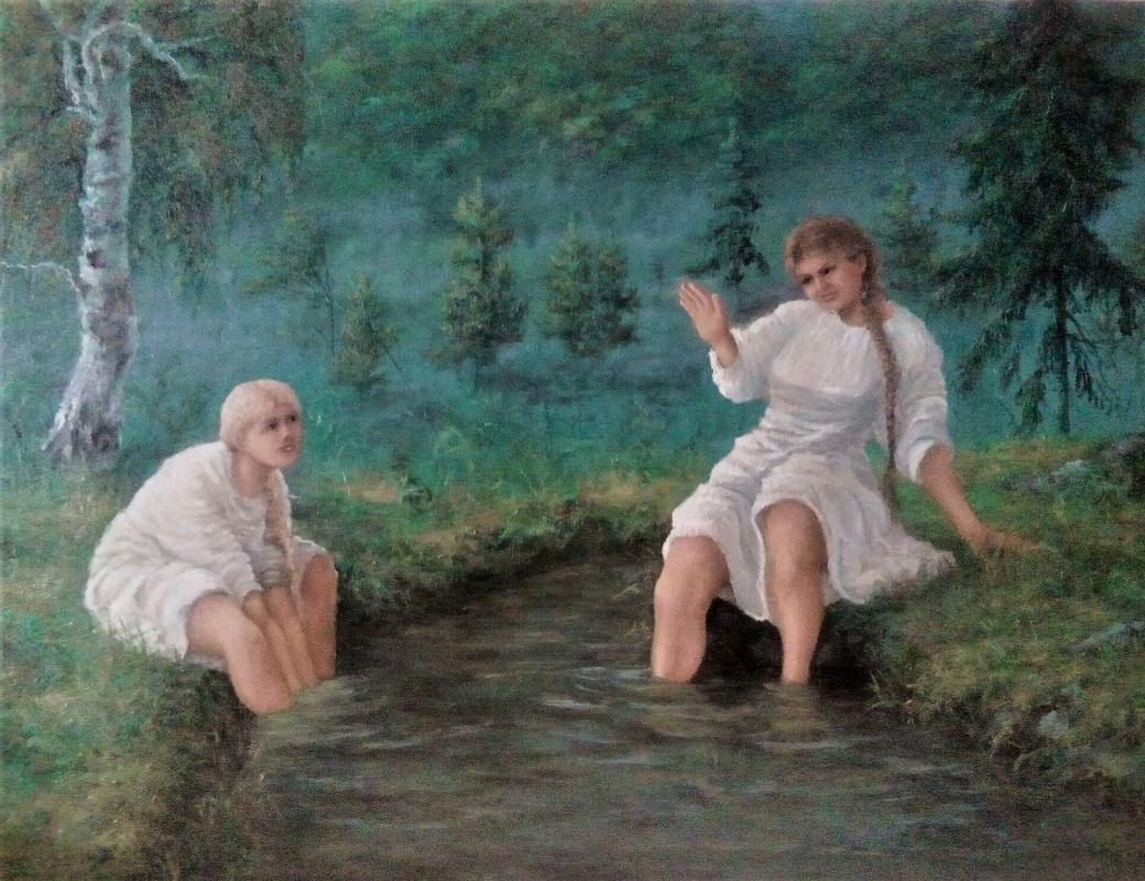 Vadim Olegovich Maslov. By the stream