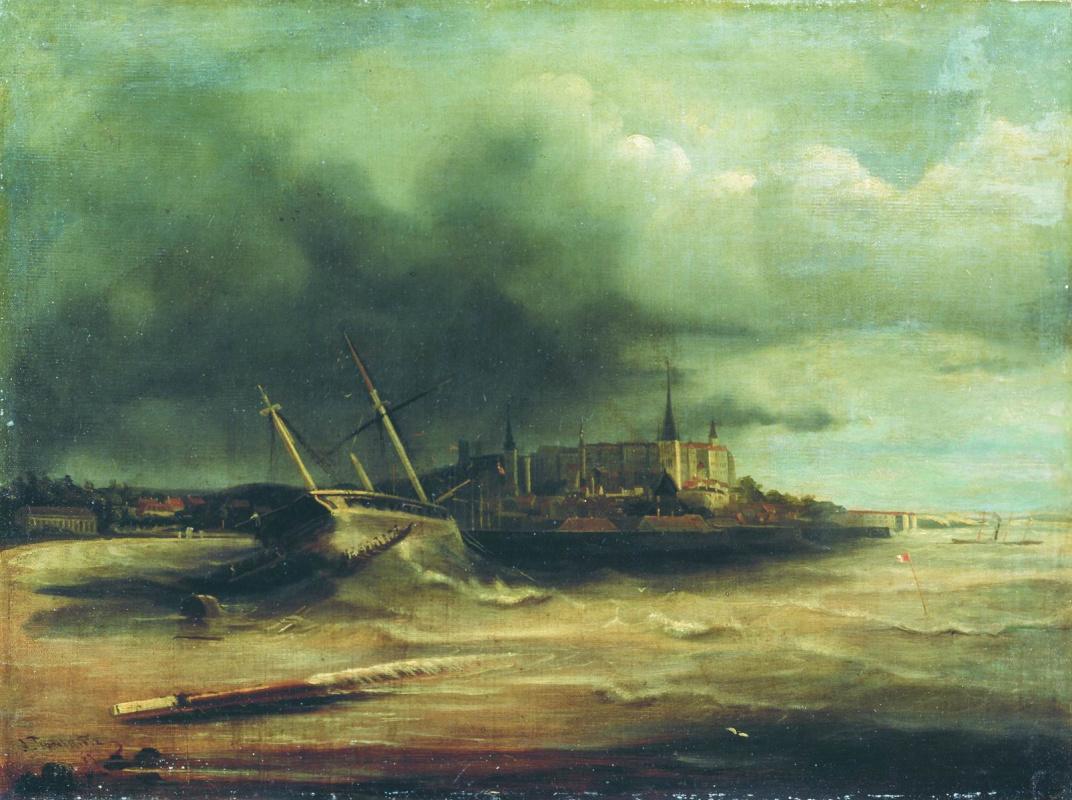 Алексей Петрович Боголюбов. Буря