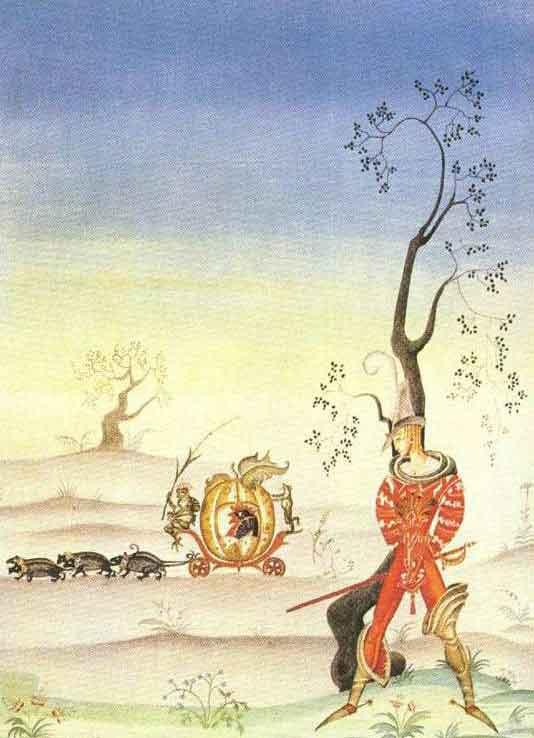 Кей Нильсен. Иллюстрация к сказке Вишня, или лягушка Невеста