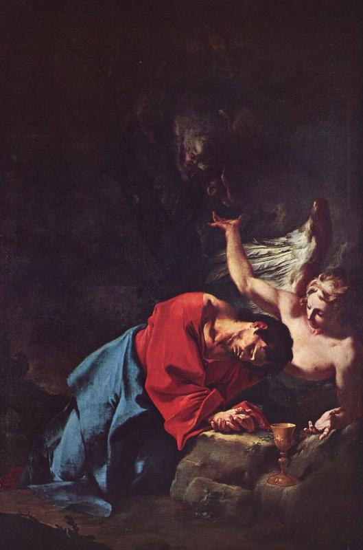Пауль Трогер. Христос в Гефсиманском саду