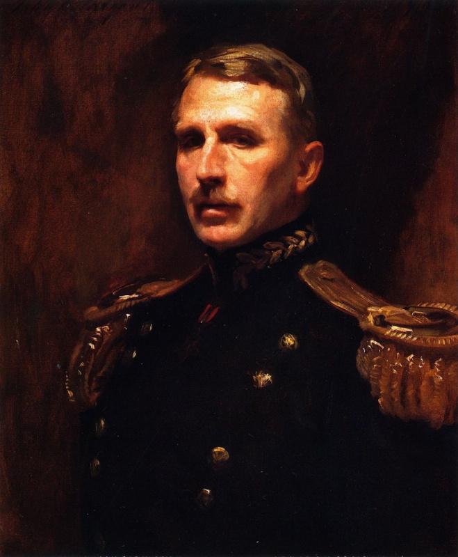 Джон Сингер Сарджент. Генерал Леонард Вуд
