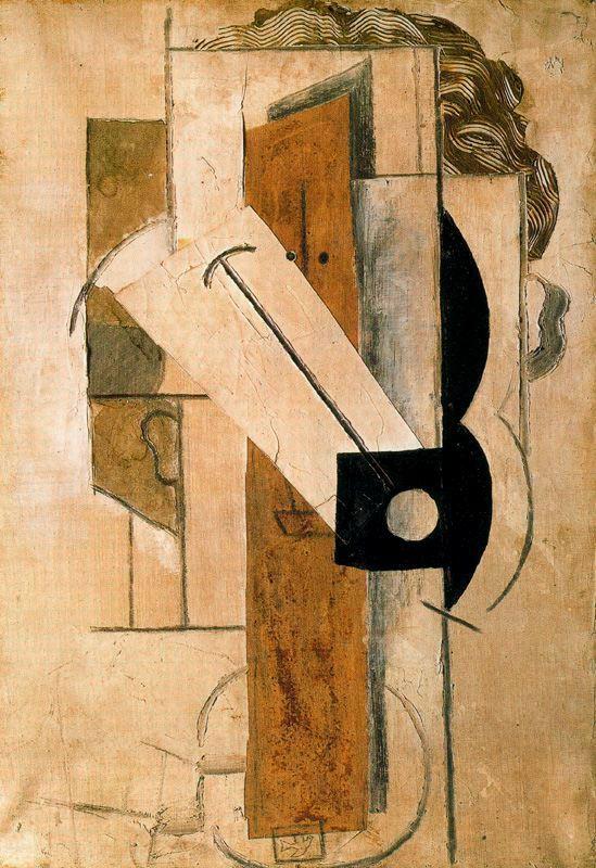 Пабло Пикассо. Голова молодой девушки