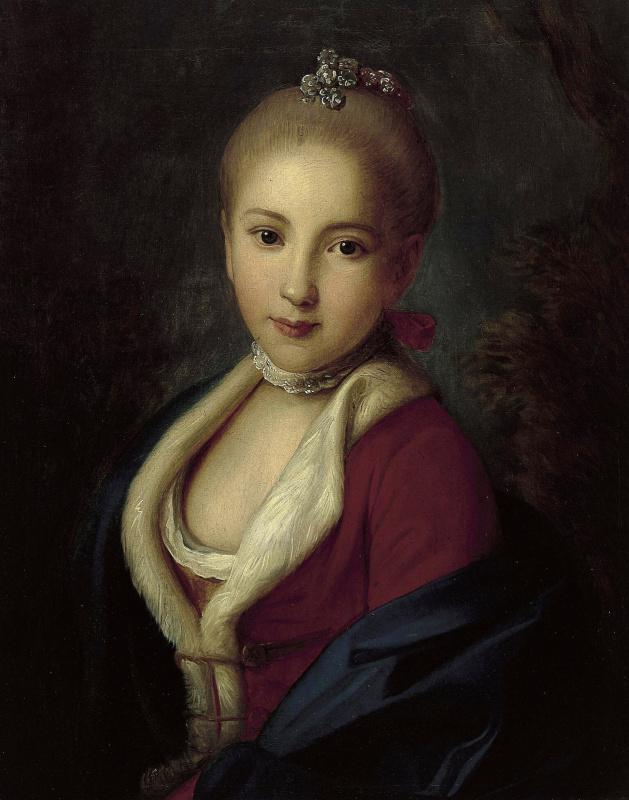 Портрет Екатерины Петровны Гольштейн-Бек, позже княгини Барятинской