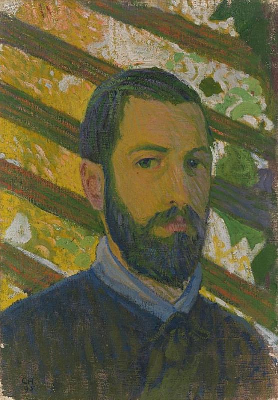 Cuno Amiè. Self-portrait