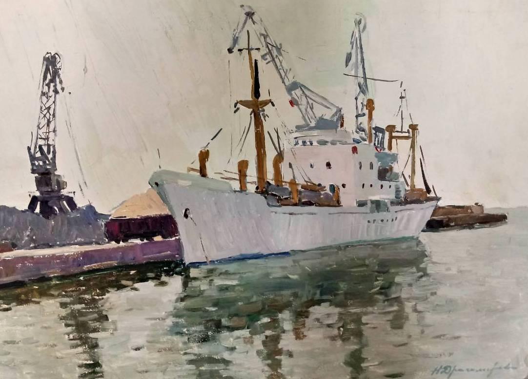 Nina Stepanovna Dragomirova. Ship