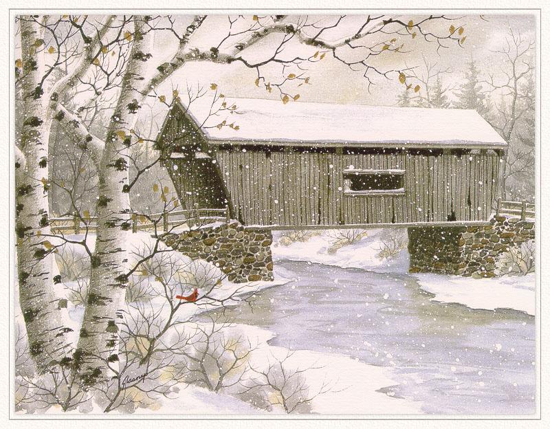 Cathy Glasnap. Snow stream