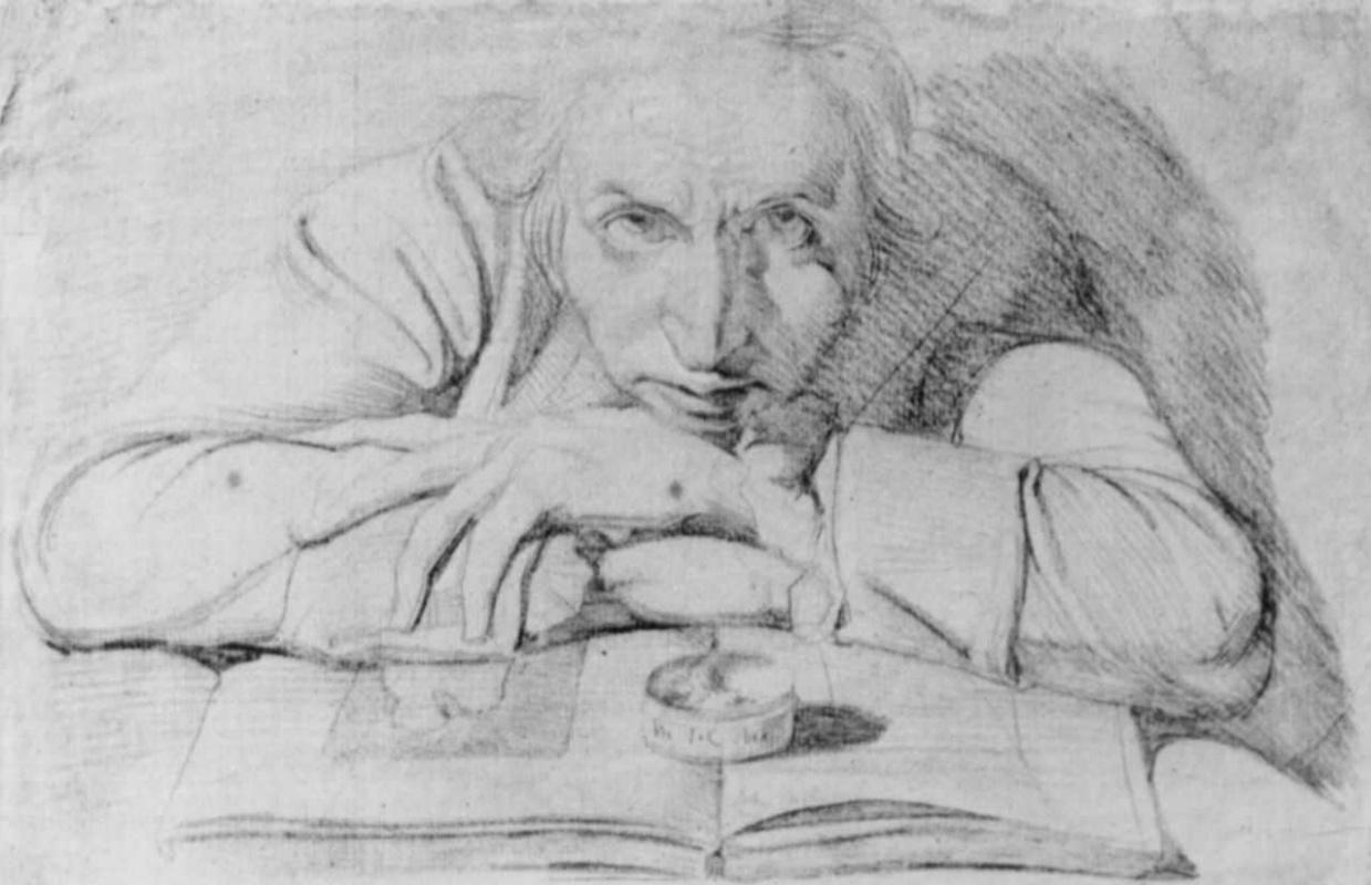 Johann Heinrich Fuessli. Self-portrait
