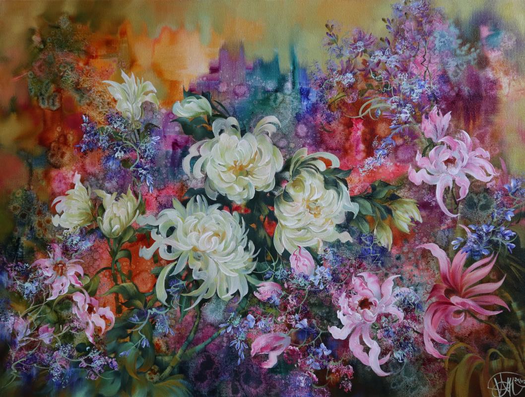 Alexander Timakov. Chrysanthemums.