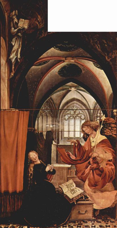 Matthias Grünewald. Sengeysky the altar, the inner side