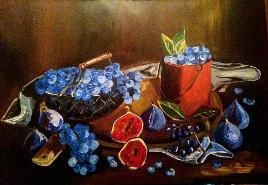 Irina Leonidovna Angelcheva. Grapes and Figs