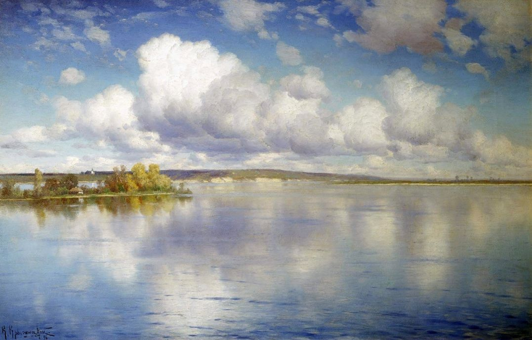 Константин Яковлевич Крыжицкий. Озеро