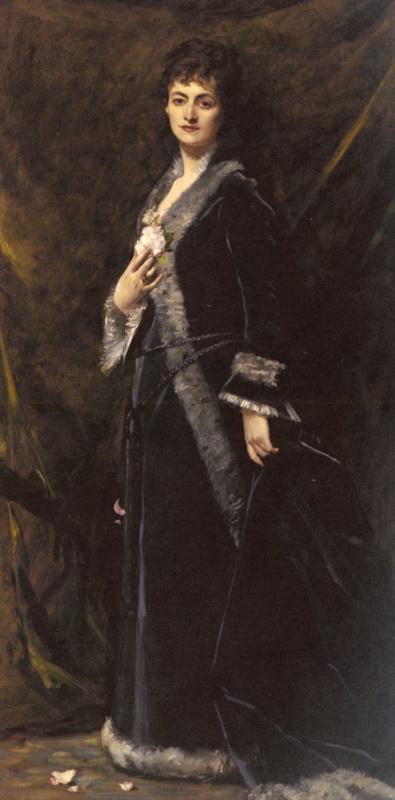 Каролюс-Дюран. Портрет женщины в черном
