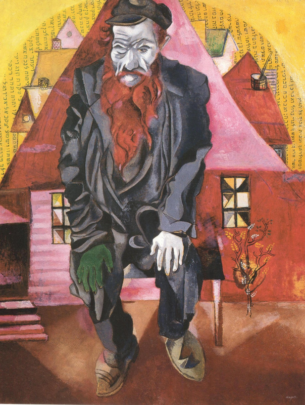 Marc Chagall. Red jew
