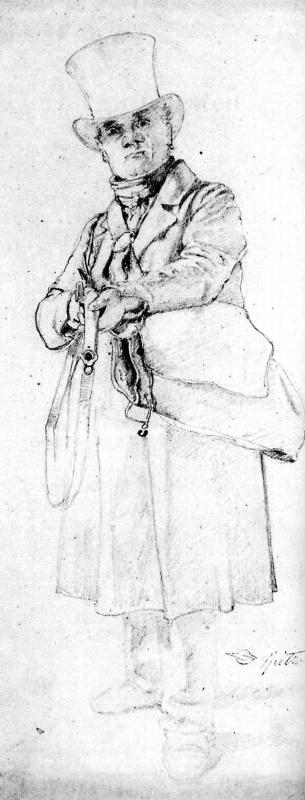 Карл Шпицвег. Охотник