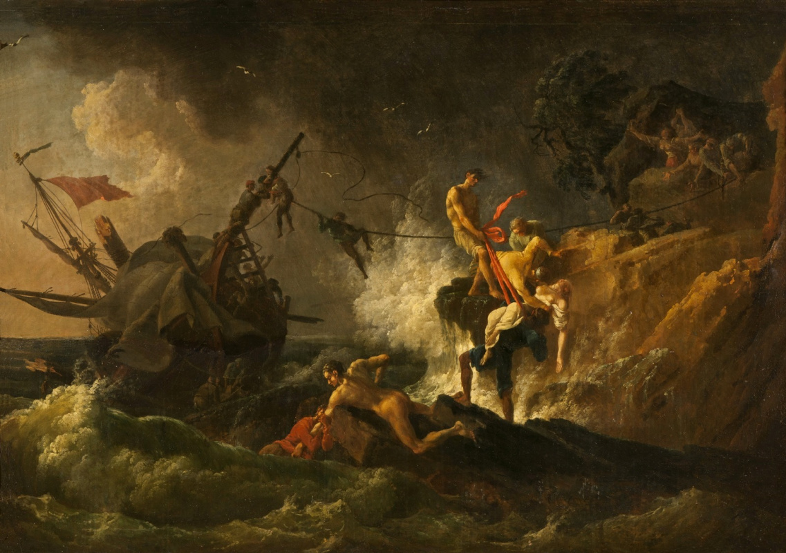 Pierre-Jacques Woller. Shipwreck.