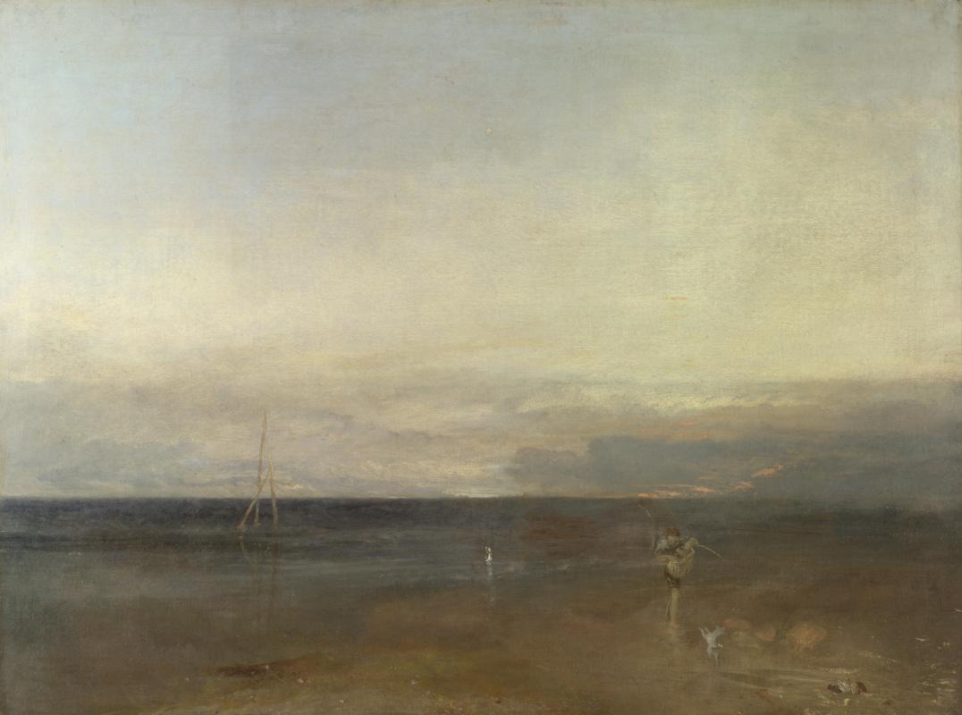 Joseph Mallord William Turner. Evening star