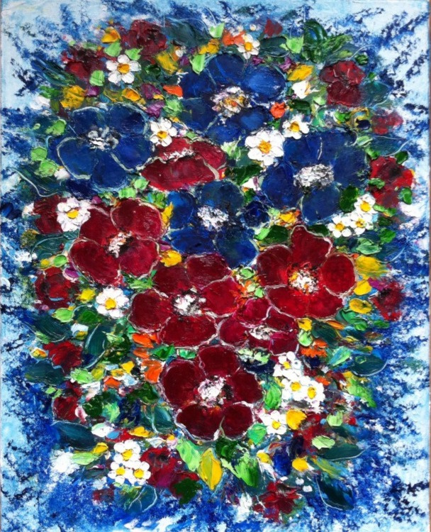 Galina Nikolaevna Silina. ,, Paints of the summer ,,