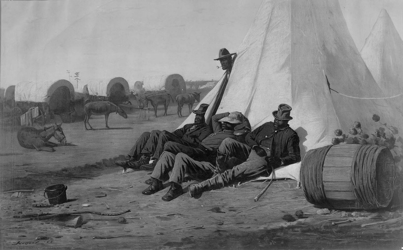 Winslow Homer. White tents