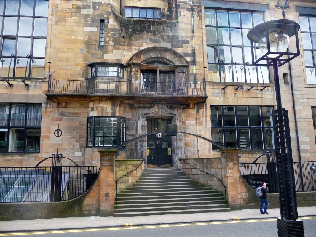 Charles Rennie Mac. Glasgow School of Art