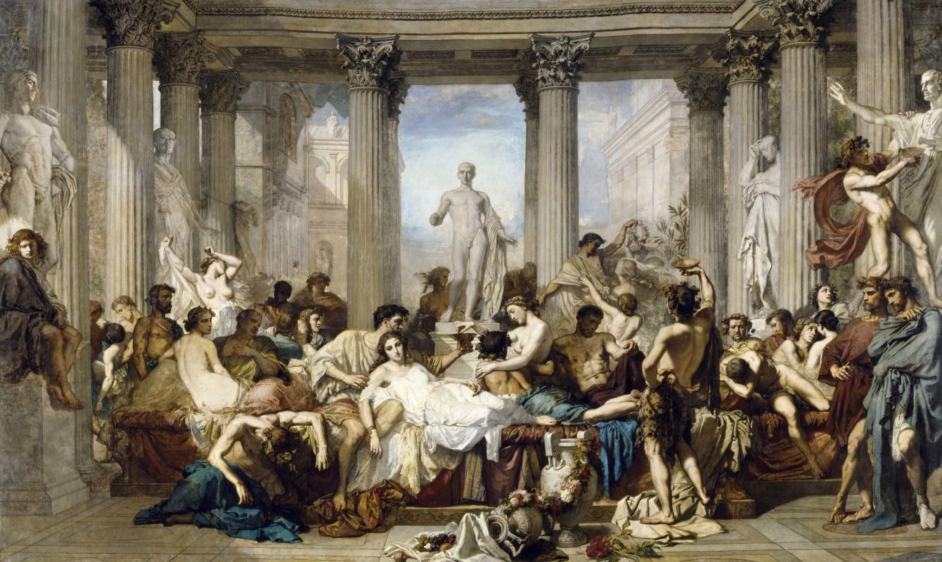Тома Кутюр. Римляне эпохи упадка