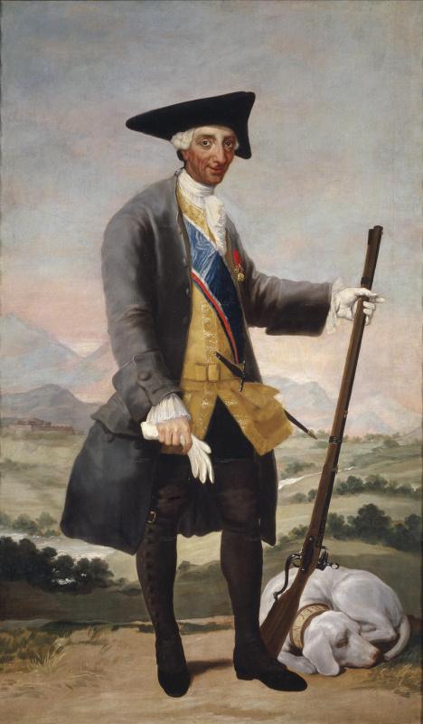 Франсиско Гойя. Карл III в костюме охотника