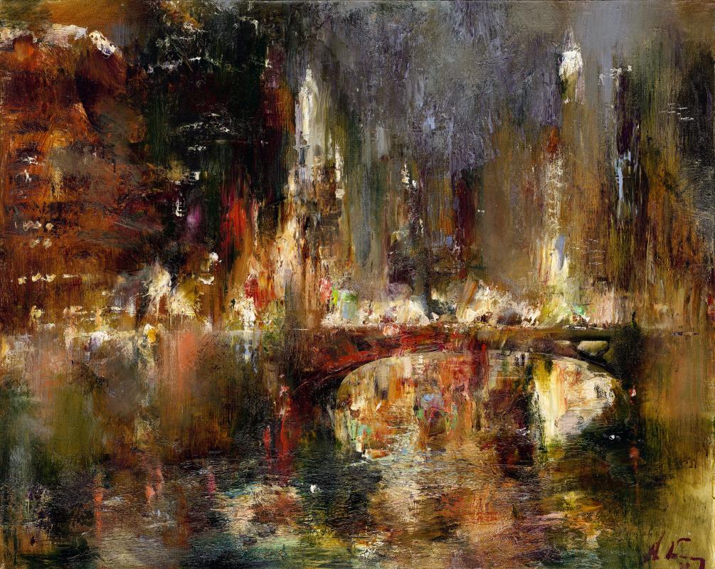 Nikolay Dmitrievich Blokhin. Golden Lights of Chicago